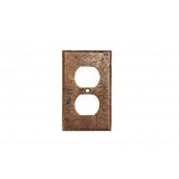 Premier Copper SO2 Copper Switchplate Single Duplex
