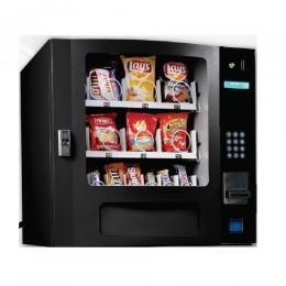 Seaga SM16SB Countertop 16 Select Snack Vending Machine with Coin Bill Black