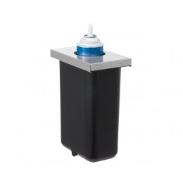 Server Whipped Topping Can Cooler with Black HOLDCOLD Jar