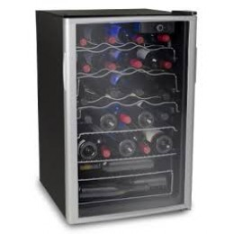 Soleus Air WK6 38 Bottles Dual Panel Glass Door Wine Cooler