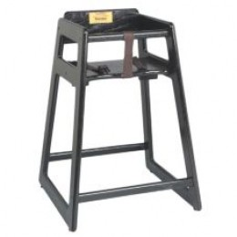 Tomlinson C-30 BK Child's High Chair - Black