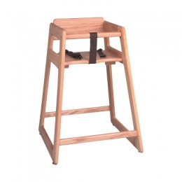 Tomlinson C-30 N Child's High Chair - Natural