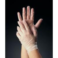 Tomlinson C-Kure Vinyl Powder Free Food Service Gloves Large 1000/CS