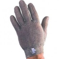 Tomlinson Ambidextrous Full Hand Steel Metal Mesh Gloves XSmall