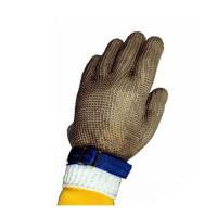 Tomlinson Ambidextrous Full Hand Nylon Closure Metal Mesh Gloves XXS