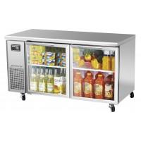 Turbo Air JUR-60-G J Series Glass Door Undercounter Side Mount Refrigerator 15 cu ft