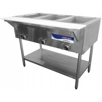 Turbo Air RST-3P Hot Food Steam Table 3 Section 12