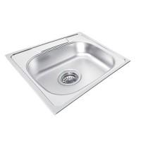 UKINOX GA480.480 Drop In Single Bowl Stainless Steel Kitchen Sink