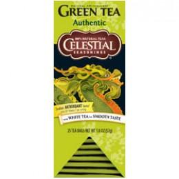 Celestial Seasonings Authentic Green Tea 25 Tea Bags per Pack 6Packs
