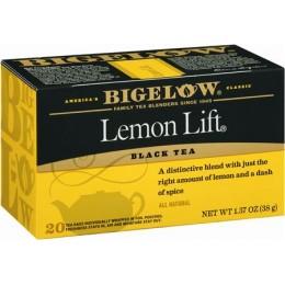 Bigelow Lemon Lift Tea Bag, 6 Boxes of 28 Tea Bags, 168 Total