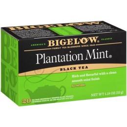 Bigelow Plantation Mint Tea Bag, 6 Boxes of 28 Tea Bags, 168 Total