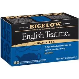 Bigelow English Teatime Tea Bag, 6 Boxes of 28 Tea Bags, 168 Total