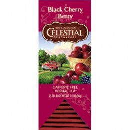 Celestial Seasonings Black Cherry Berry Tea 25 Tea Bags per Pack
